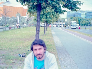 Sarper Dost is out of focus in Berlin